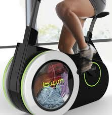 Bike Washing Machine, lavare i panni facendo fitness