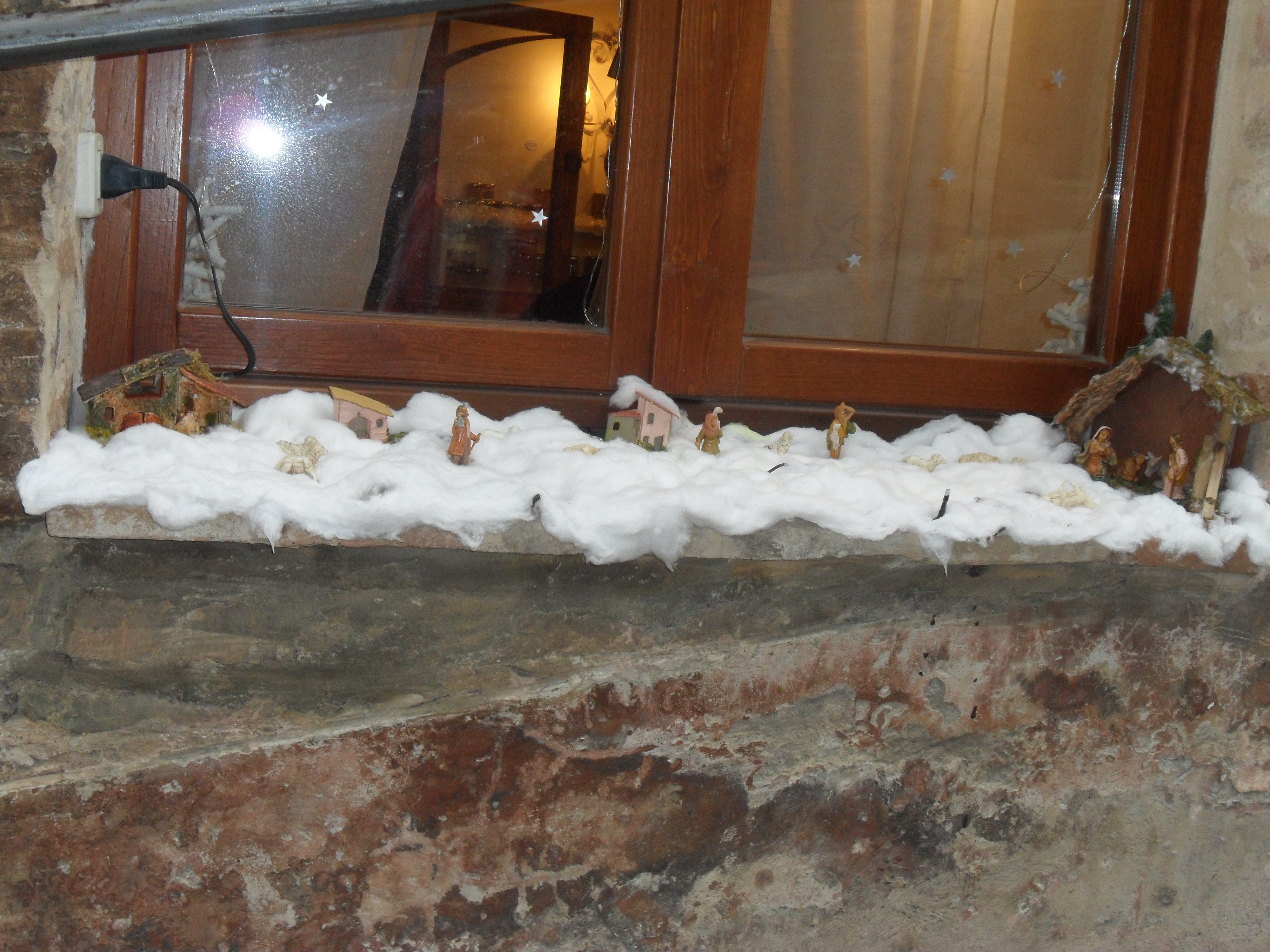 Natale nel borgo marchigiano di Sarnano tra i Monti Sibillini