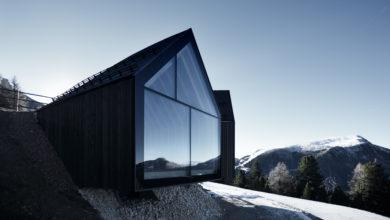 Il rifugio Oberholz: architettura sostenibile ad alta quota