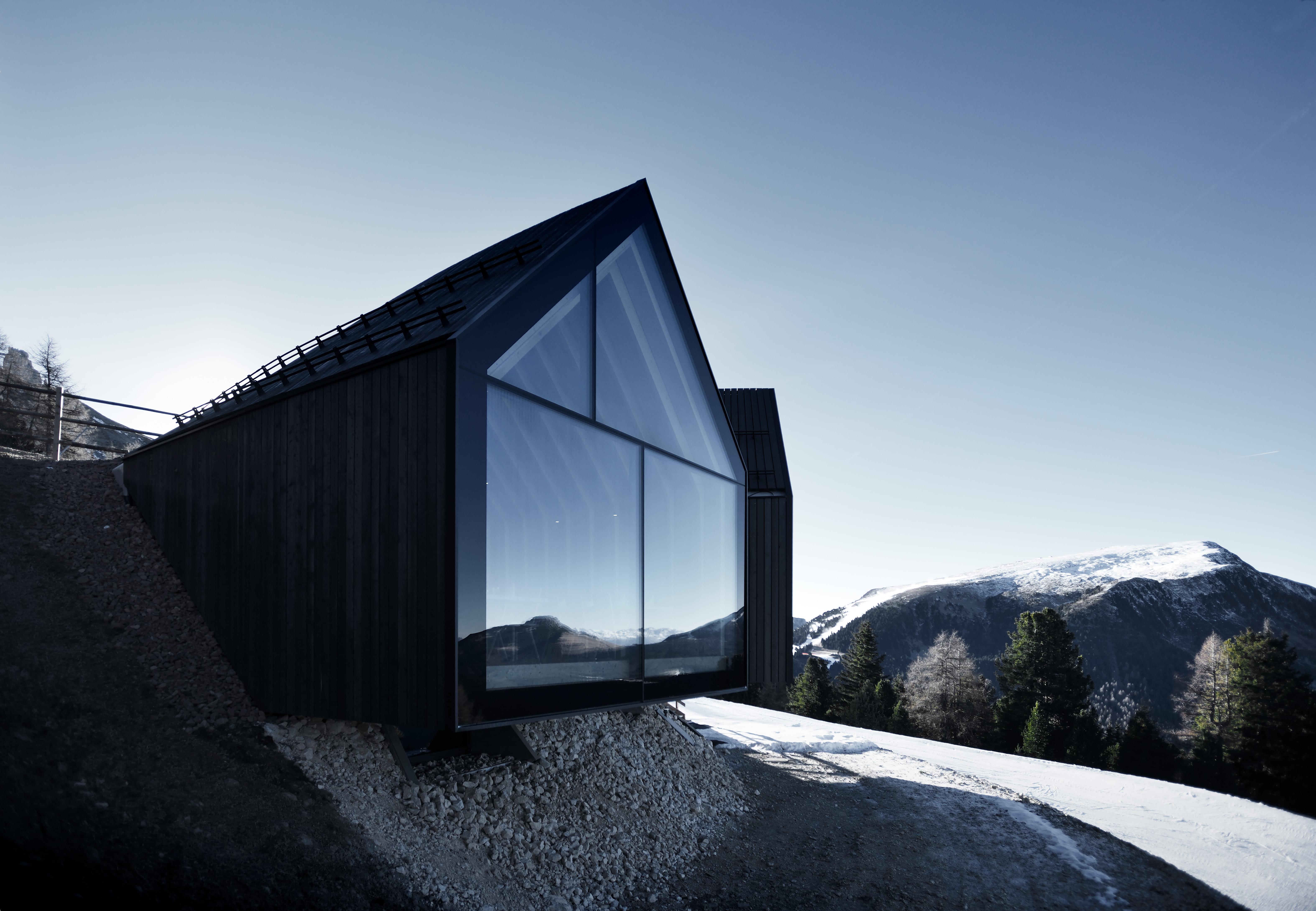 Architettura Sostenibile Architetti il rifugio oberholz: esempio di architettura sostenibile ad