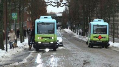 Autobus elettrici senza conducente: inaugurati i primi a Stoccolma [VIDEO]