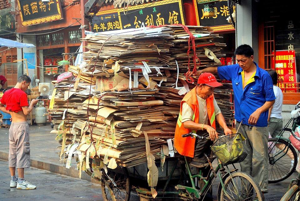 Dalla Cina arriva la carta ecologica, riutilizzabile fino ad otto volte