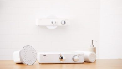 Livin, la doccia smart programmata per non sprecare l'acqua