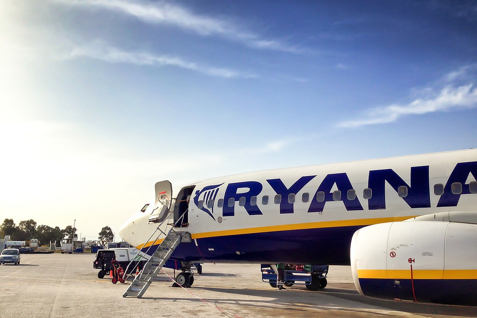 No alla plastica non riciclabile. L'impegno green di Ryanair