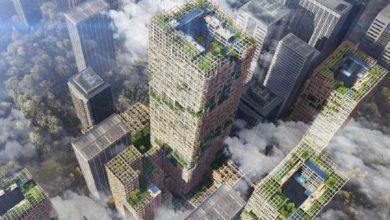 Un grattacielo in legno alto 350 metri. Sarà il più alto al mondo