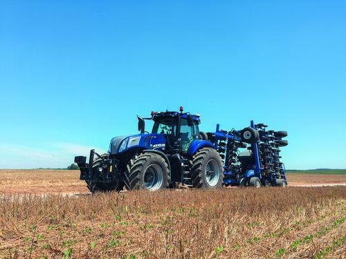 L'eco trattore a biometano che rende autosufficienti le aziende agricole