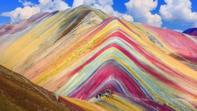 Vinicunca, la montagna arcobaleno del Perù [VIDEO]