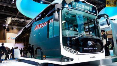 Toyota lancia Sora, il primo autobus alimentato a idrogeno