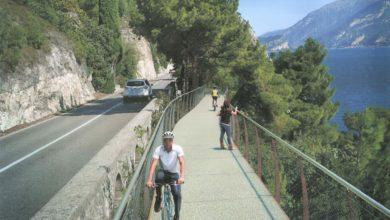 Sorgerà sul Lago di Garda la pista ciclabile più suggestiva d'Europa