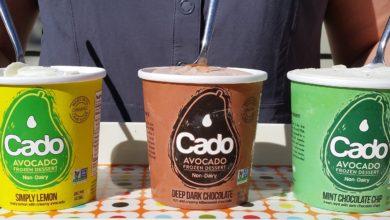Arriva dall'America il gelato di avocado, vegano e senza lattosio