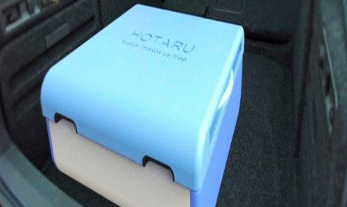 Hotaru, la doccia a basso consumo da mettere in valigia