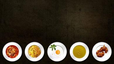 mangiare di meno piatto piccolo