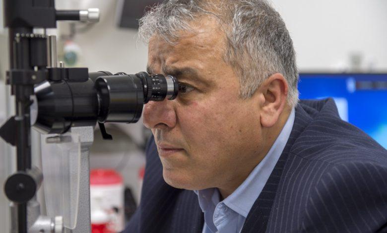 Un test dell'occhio per diagnosticare il morbo di Parkinson