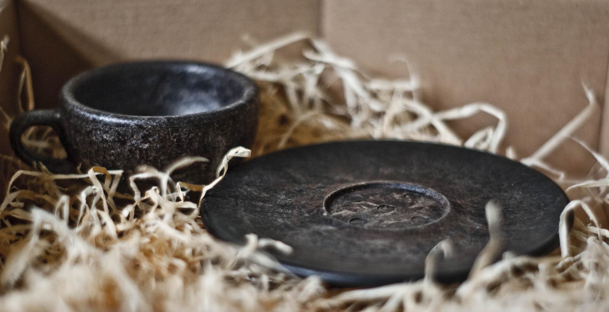 Economia Circolare Tazze E Tazzine Fatte Con I Fondi Di Caffe