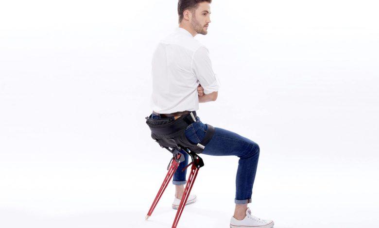 Lex, in arrivo la sedia indossabile e portatile che corregge la postura