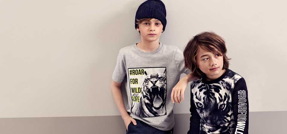 H&M e Wwf firmano una collezione sostenibile dedicata ai bambini