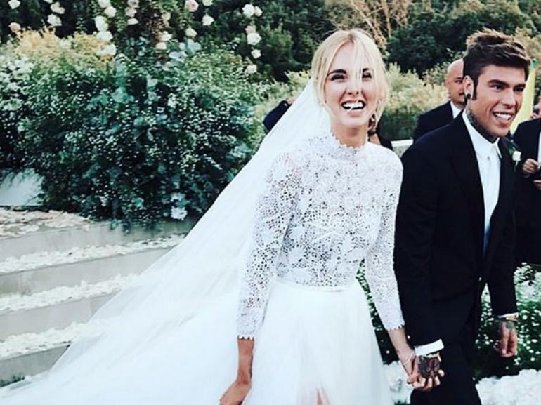Matrimonio In Diretta Chiara Ferragni Fedez : Matrimonio chiara ferragni e fedez abiti sostenibili per