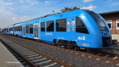 Zero emissioni per il primo treno a idrogeno che emette solo acqua