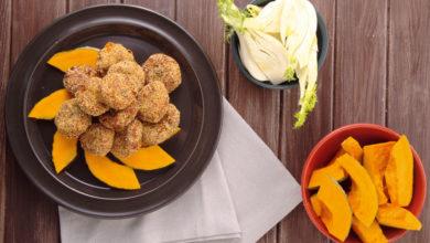 Ricette vegane: le polpette di zucca e ceci cotte al forno