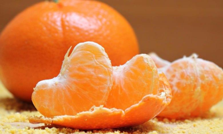Maschera Capelli Mandarino