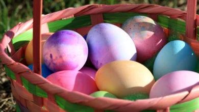 Uova Segnaposto Pasqua