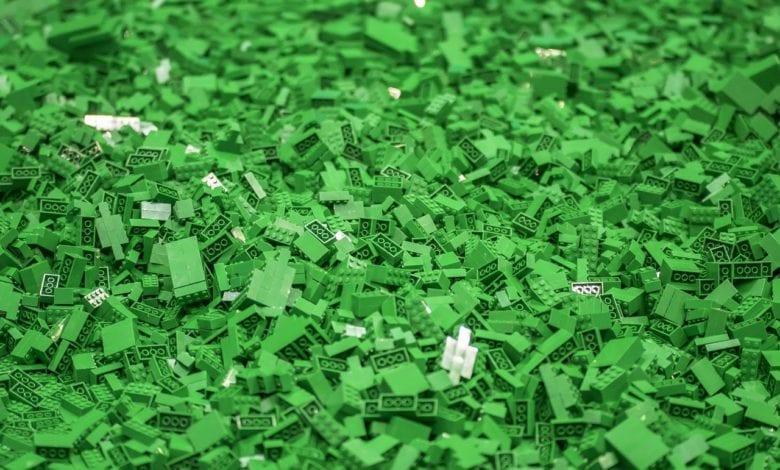 Lego Plastica Riciclata