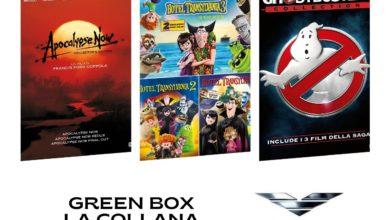 Eagle Pictures collane ecosostenibili Green Box