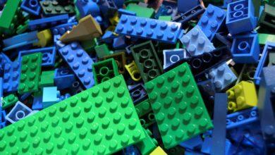 studio Lego effetti plastica in mare