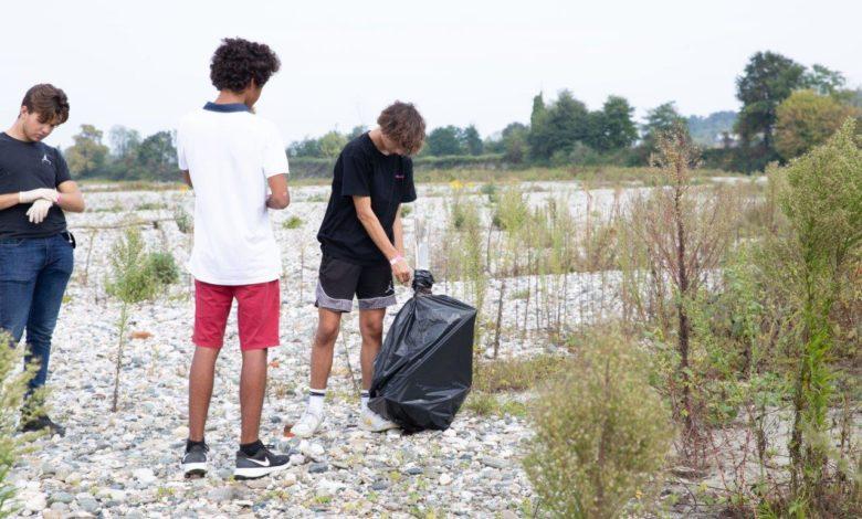 raccolte rifiuti sponde Po Torino
